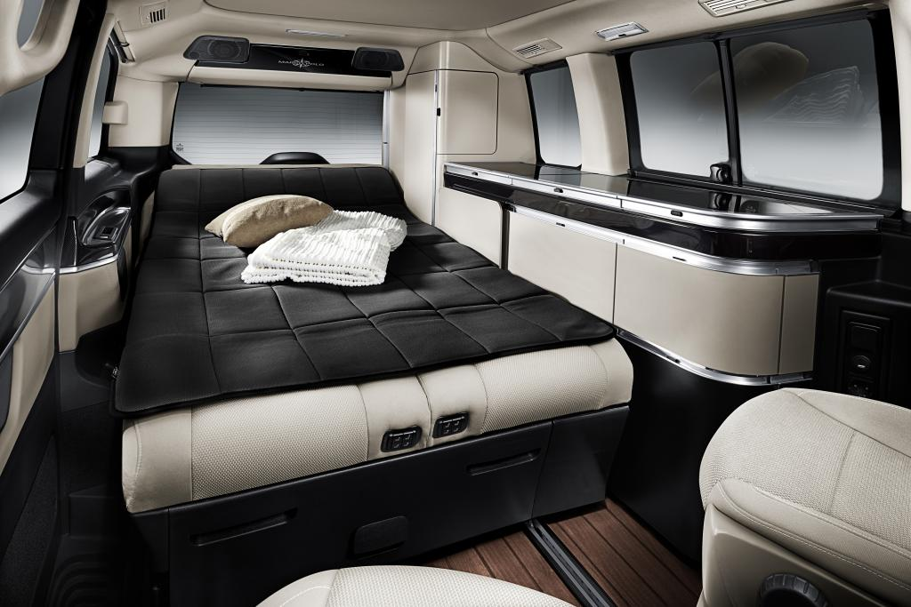mercedes v klasse neuer marco polo wird der design camper autogef hl. Black Bedroom Furniture Sets. Home Design Ideas