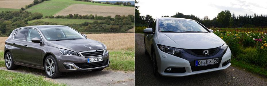 Peugeot308_vs_HondaCivic