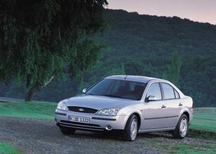 Ford Mondeo 3. Generation von 2000 bis 2007, Foto: Ford