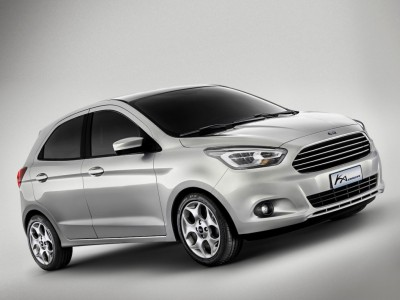 Vollwertiger Viersitzer: Die dritte Generation des Ka ist vor allem funktional und massenkompatibel Foto: Ford