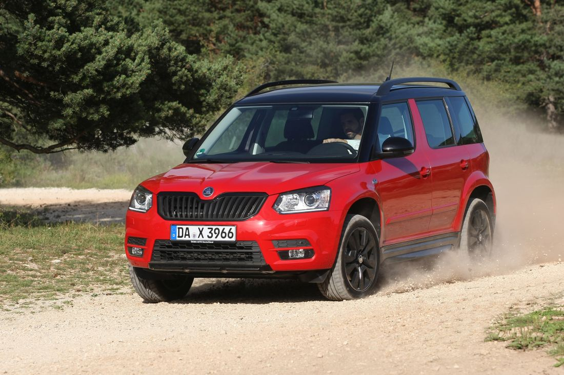 skoda yeti monte carlo mit tdi und dsg im testbericht autogef hl. Black Bedroom Furniture Sets. Home Design Ideas