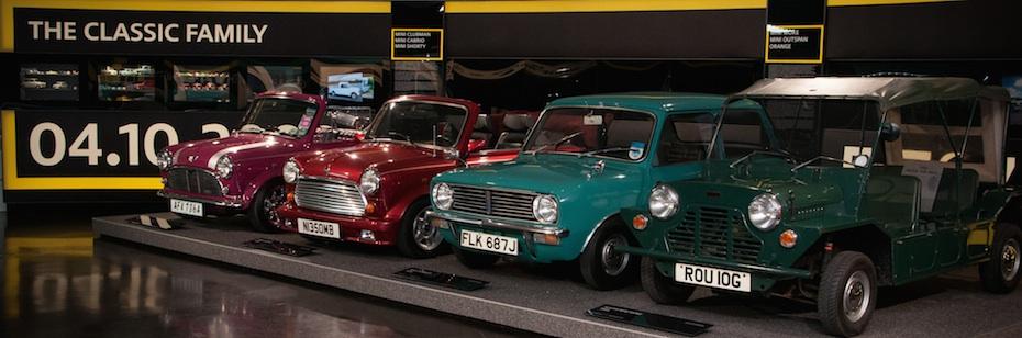The Mini Story Ausstellung Im Bmw Museum Autogefühl