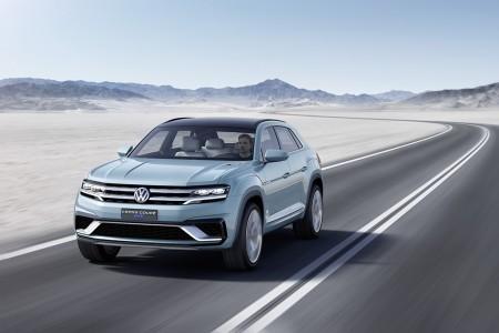 Ein Deutscher für Amerika: Volkswagen Studie Cross Coupé GTE - Foto: Volkswagen