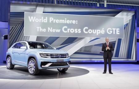 Premiere der SUV-Studie auf der Detroit Show Anfang Januar - Foto: Volkswagen