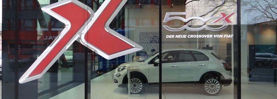 Fiat500XMarktstart
