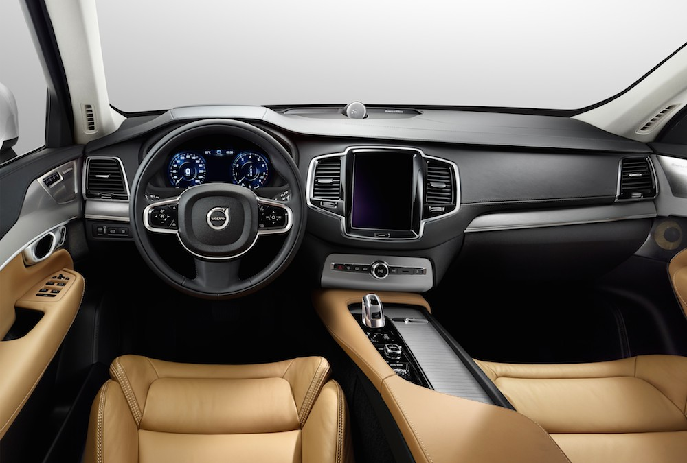 The all-new Volvo XC90 - interior