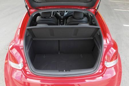 Hohe Ladekante, aber dank weit öffnender Klappe gut nutzbarer Kofferraum - Foto: Hyundai