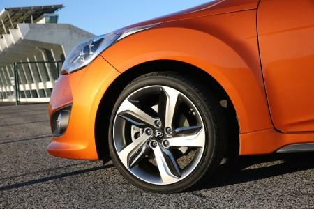 Die 18 Zoll LM-Felgen verdienen einen Schönheitspreis - Foto: Hyundai