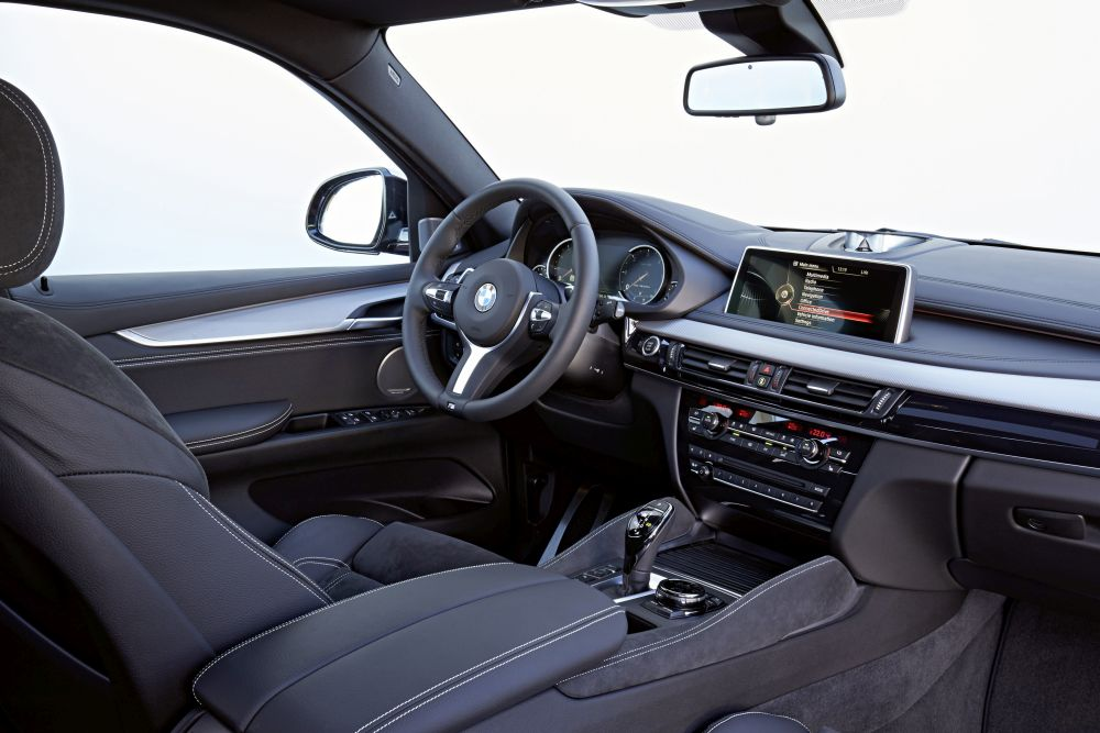 neuer bmw x6 m50d test m mit diesel autogef hl. Black Bedroom Furniture Sets. Home Design Ideas