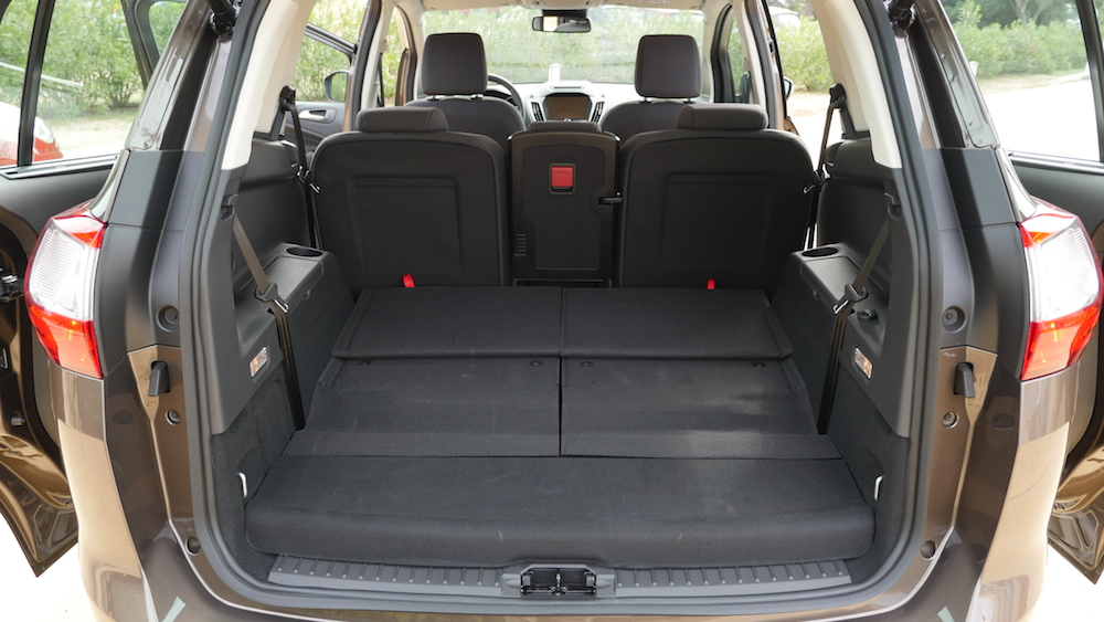 test ford c max vs grand c max facelift im vergleich autogef hl. Black Bedroom Furniture Sets. Home Design Ideas