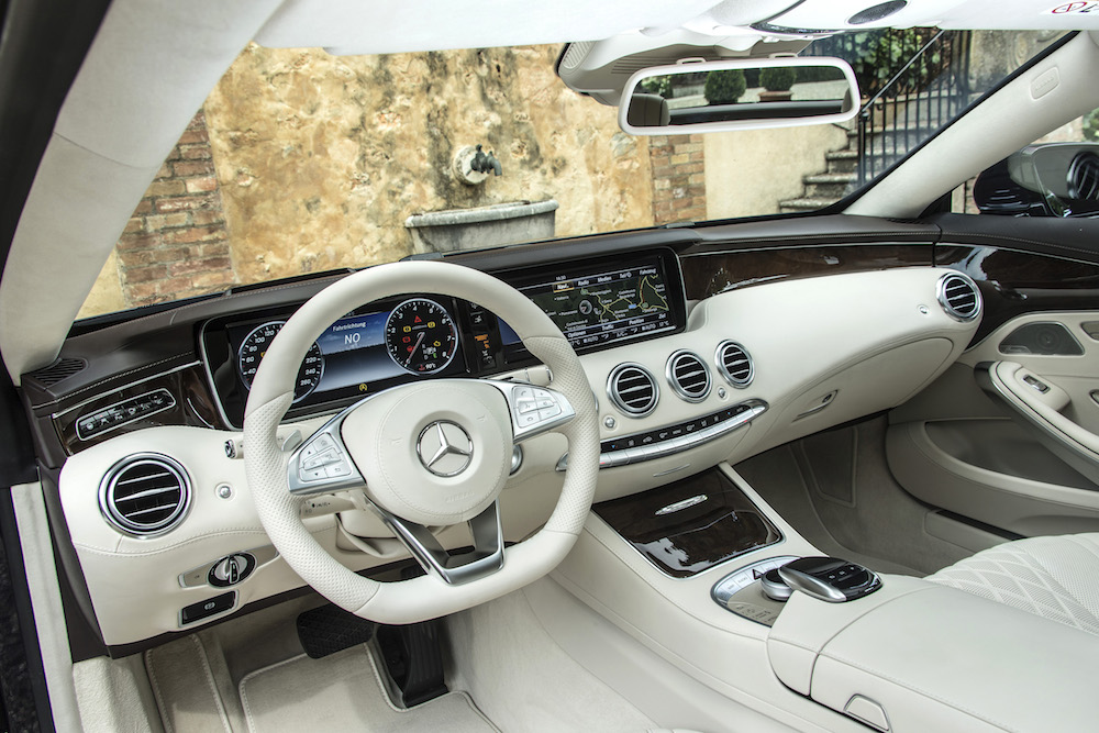 Mercedes-Benz S-Klasse Coupe/S63AMG Coupe, Toskana 2014