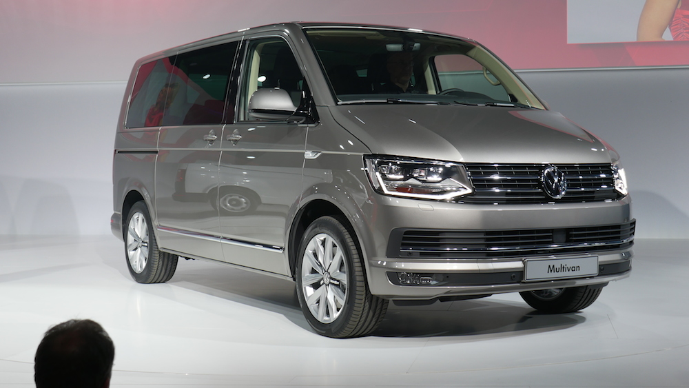 VW T6 Transporter submited images.