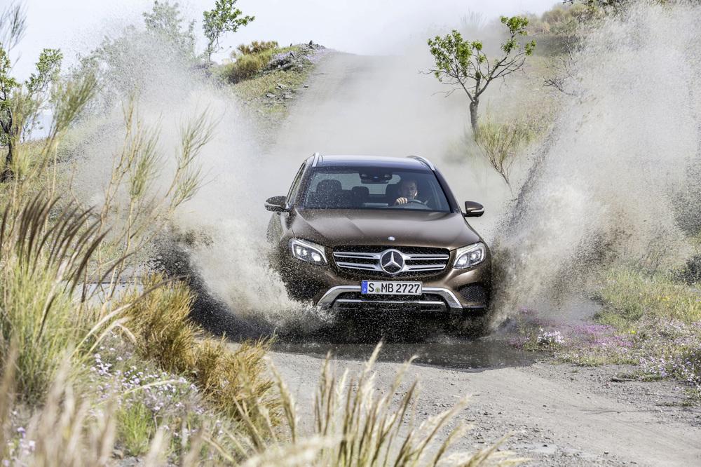 Mercedes-Benz GLC 250d 4MATIC, CITRINBRAUN MAGNO, Offroad Line Exterieur Mercedes-Benz GLC 220d 4MATIC, CITRINE BROWN MAGNO, Offroad Line, exterior