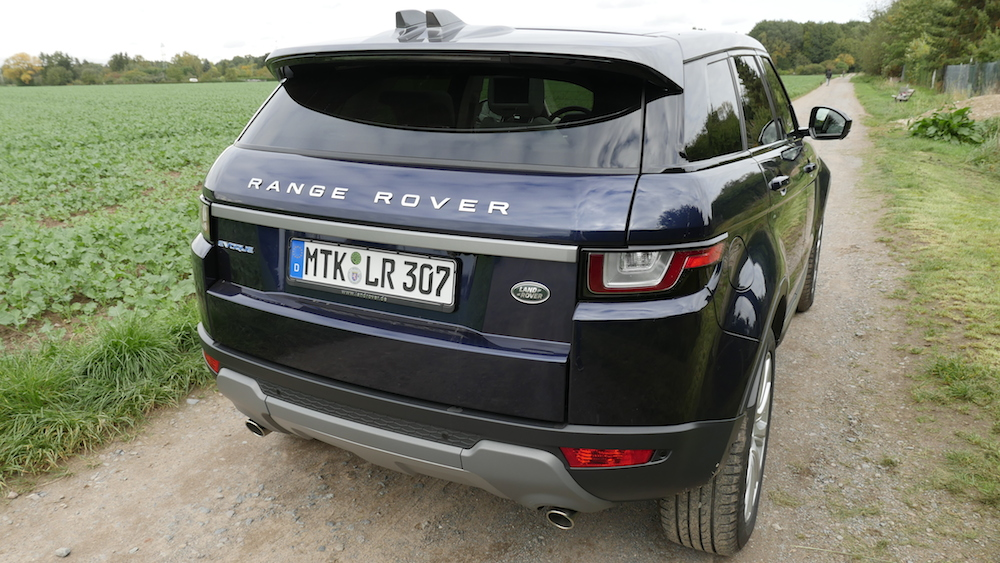 range rover evoque facelift fahrbericht autogef hl. Black Bedroom Furniture Sets. Home Design Ideas