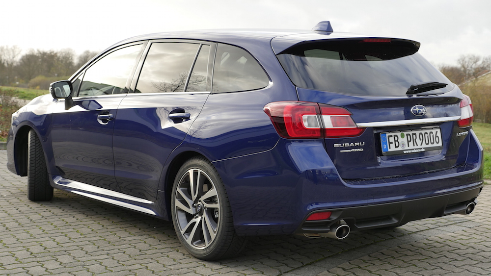 Neuer Subaru Levorg Crossover Kombi Testbericht Autogef 252 Hl