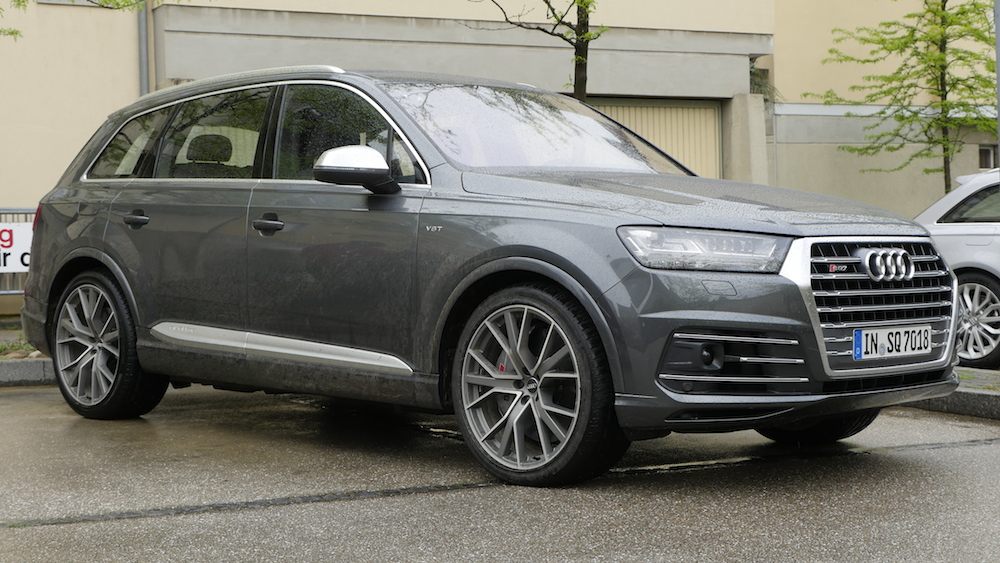 Audi Sq7 Tdi Test 435 Ps Suv Bombe Autogef 252 Hl