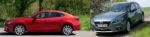 Mazda3 Limousine Benziner vs 5-Türer Hatch Diesel Test