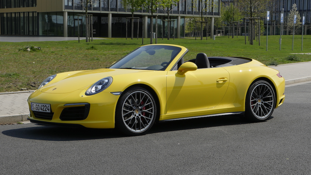 neuer porsche 911 facelift fahrbericht 4s cabriolet. Black Bedroom Furniture Sets. Home Design Ideas