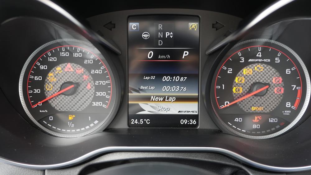 MercedesC-Klasse_Cabriolet_C63S_Laptimer