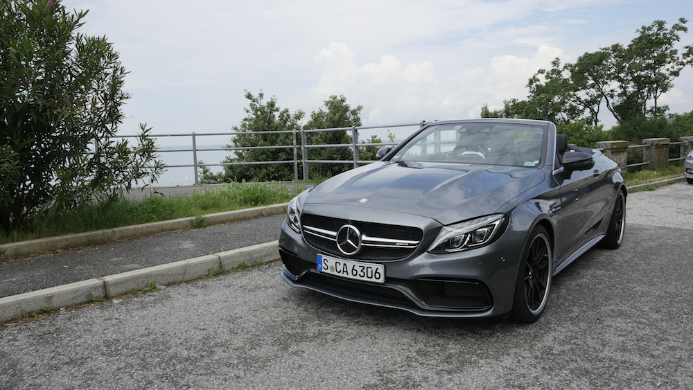 MercedesC-Klasse_Cabriolet_C63S_grau_Dachoffen