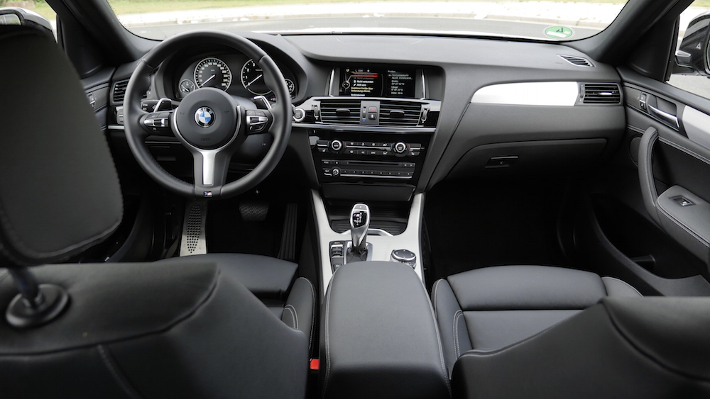 Neuer bmw x4 m40i 360 ps fahrbericht autogef hl for Interieur x4