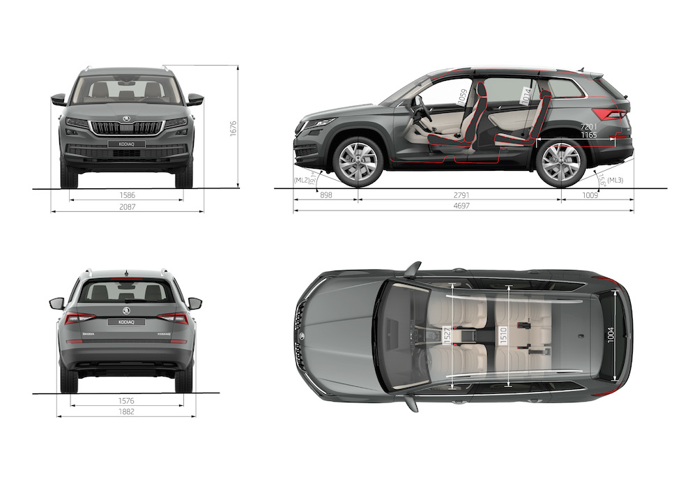 Skoda Kodiaq Weltpremiere: Neues Kompakt-SUV | Autogefühl Volkswagen Tiguan