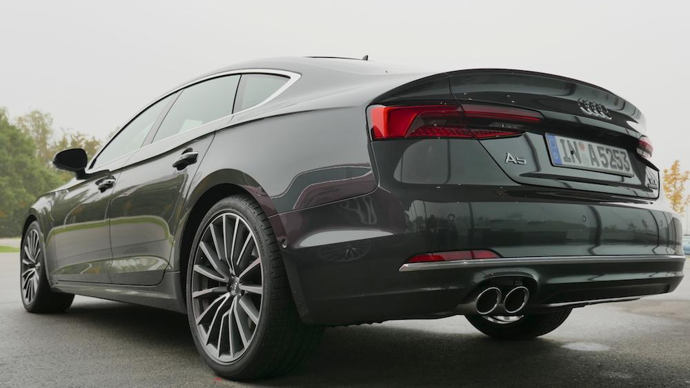 Audi A5 Sportback S Line 2 0 Tfsi Amp S5 3 0 V6 Test