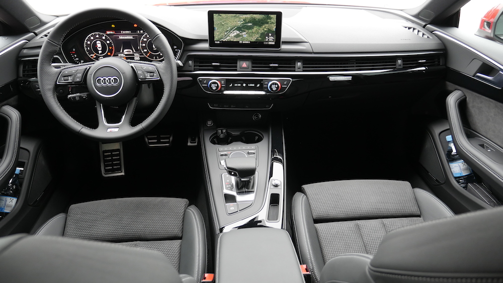 audi a5 sportback s line 2 0 tfsi s5 3 0 v6 test. Black Bedroom Furniture Sets. Home Design Ideas