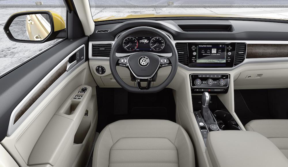 Der neue Volkswagen Atlas (USA)