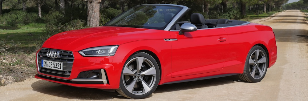 audi s5 cabriolet testbericht neues a5 cabrio 2017. Black Bedroom Furniture Sets. Home Design Ideas