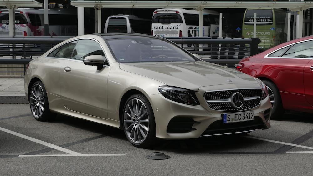 Mercedes e klasse coup e400 fahrbericht autogef hl for Interieur e klasse 2017