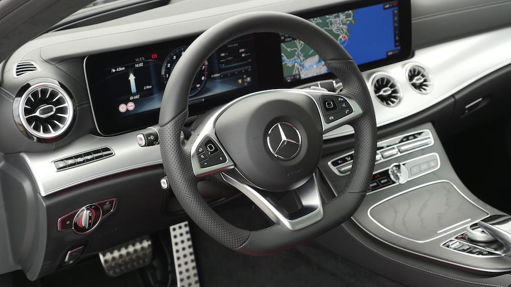 Mercedes e klasse coup e400 fahrbericht autogef hl for Interieur s klasse