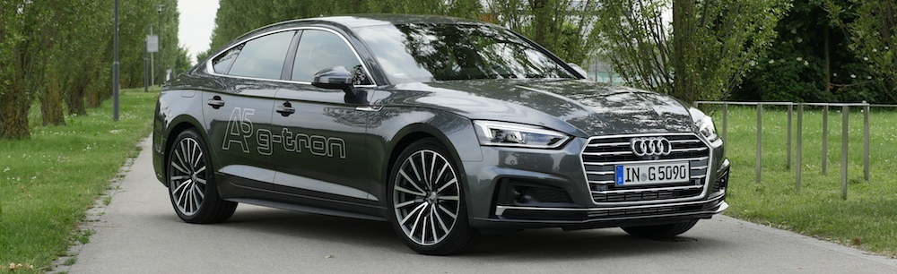 audi a5 sportback g-tron s-line erdgas test | autogefühl