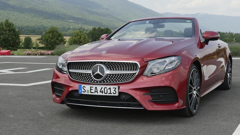 Neues Mercedes E Klasse Cabriolet E300 Test Autogef 252 Hl
