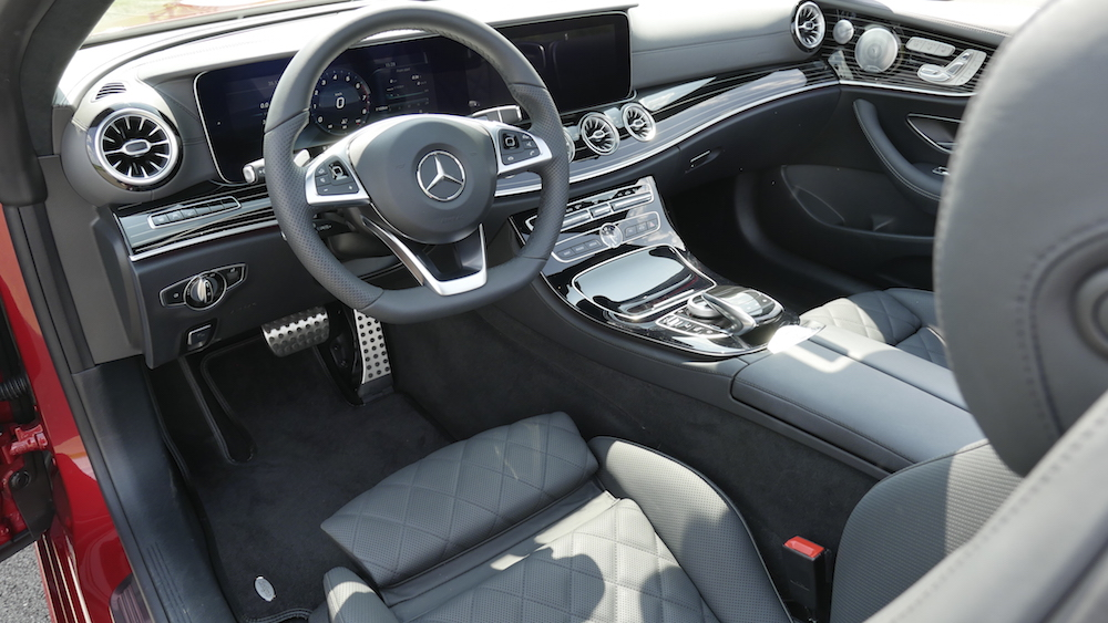 Neues mercedes e klasse cabriolet e300 test autogef hl for Interieur e klasse 2017