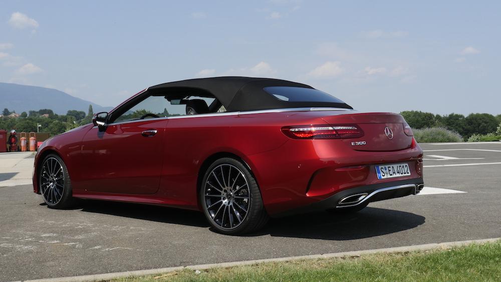 Neues Mercedes E Klasse Cabriolet E300 Test Autogefühl