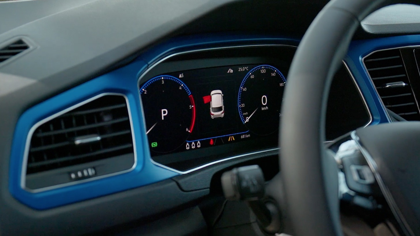 Volkswagen t roc fahrbericht autogef hl for Interieur t roc