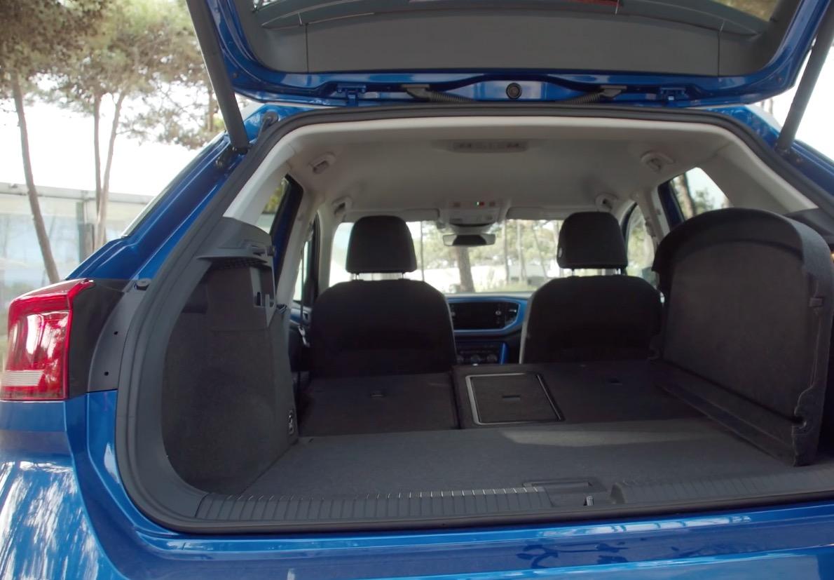 Volkswagen t roc fahrbericht autogef hl for Interior volkswagen t roc