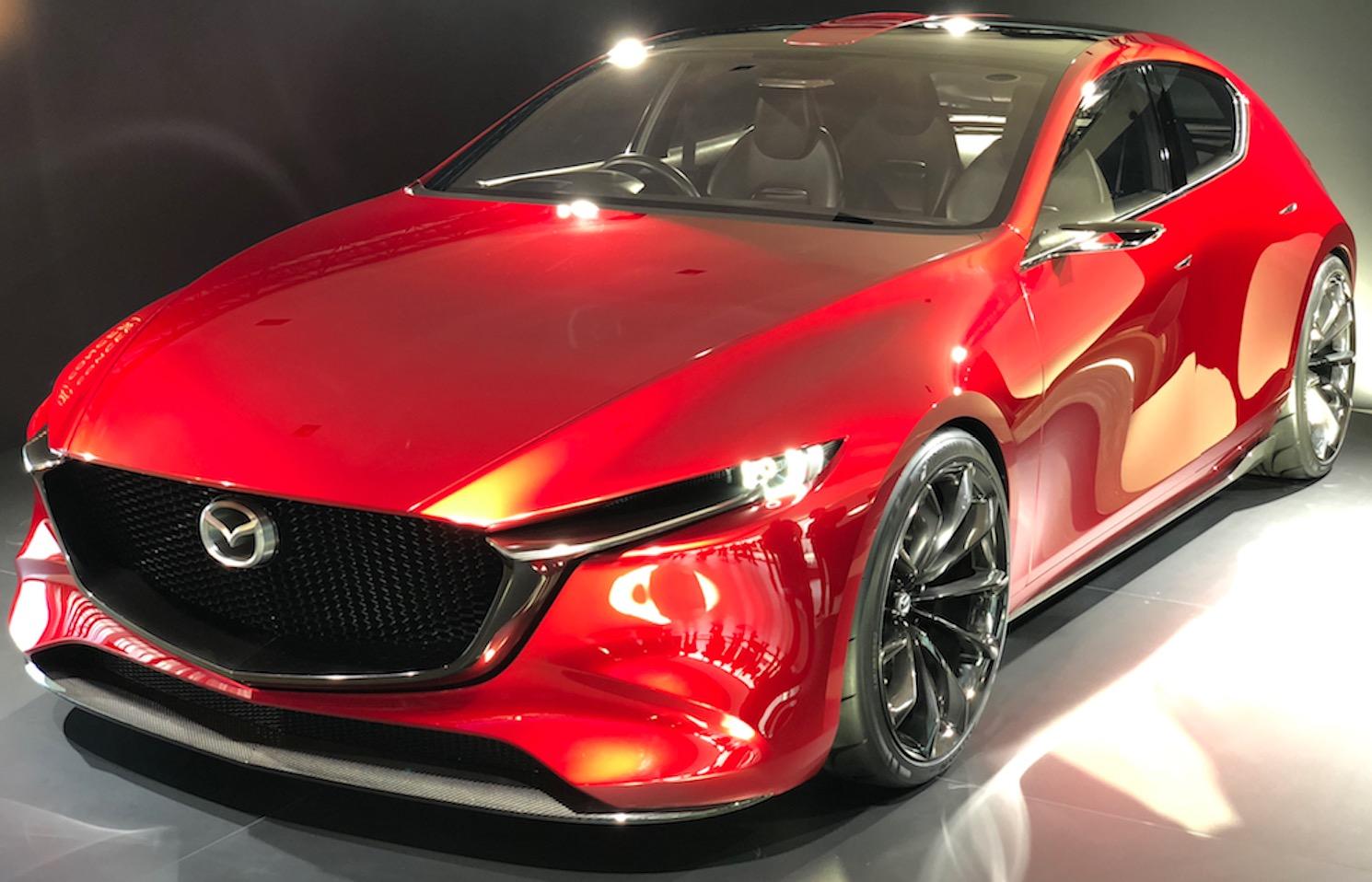 """Neuer Mazda3 mit """"Diesel-Benziner"""" Skyactiv-X 2019 ..."""