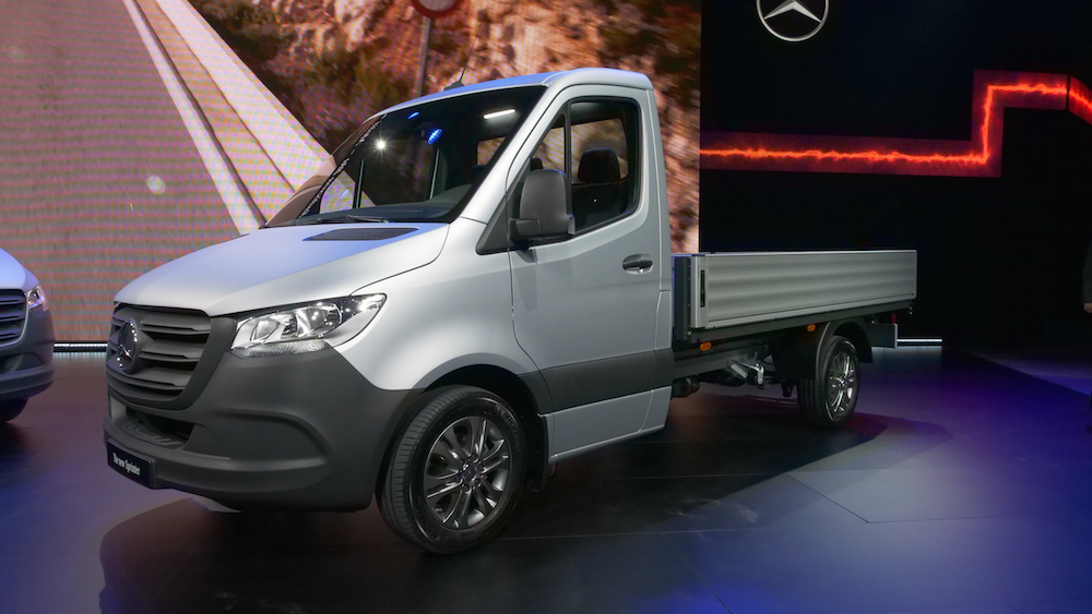 Mercedes Sprinter 2018 >> Neuer Mercedes Sprinter Weltpremiere | Autogefühl