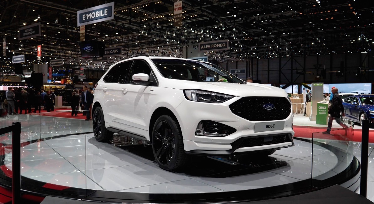 Ford Edge St Line Mit Facelift 2018 2019 Autogef 252 Hl