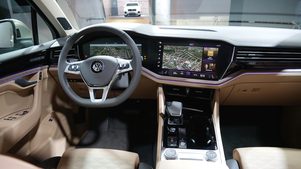 Neuer VW Touareg III 2018 | Autogefühl