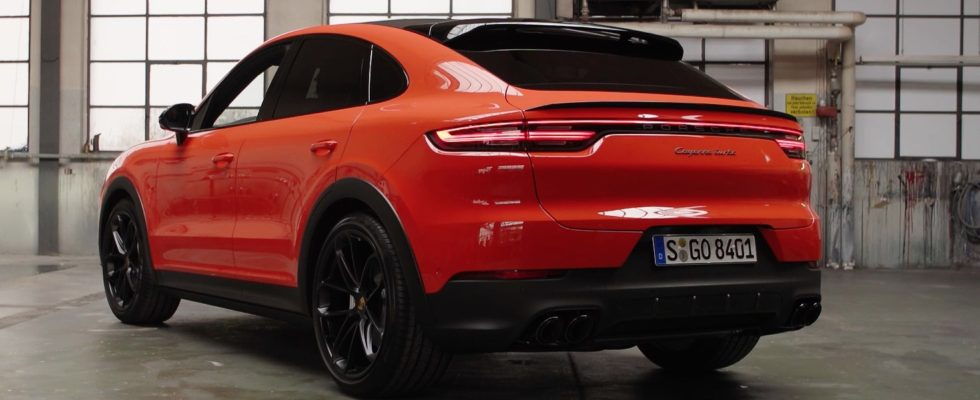 New cayenne coupe