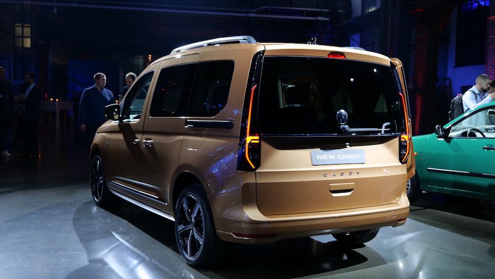 VW Caddy Fahrbericht 2021 neue Generation - Autogefühl