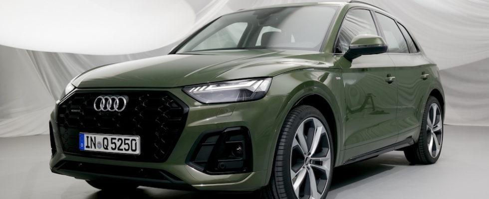 Neuer Audi Q5 S Line Facelift 2021 2020 Autogefuhl