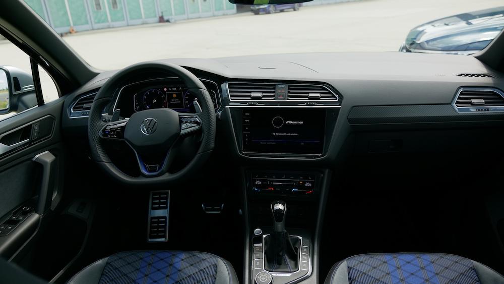 VW Tiguan Facelift 2021 mit Tiguan R und Tiguan R-Line ...