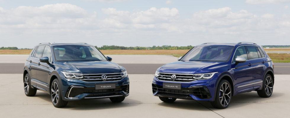 Vw Tiguan Facelift 2021 Mit Tiguan R Und Tiguan R Line Autogefuhl