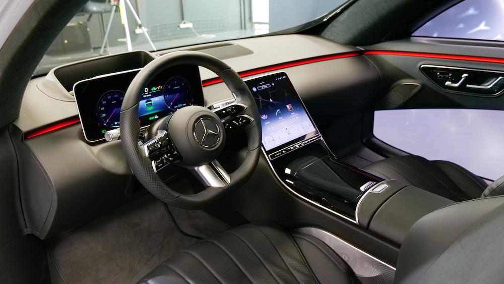 Neue MBUX Infotainment Generation in der neuen Mercedes S ...