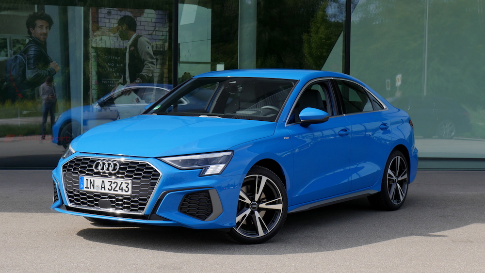 Neue Audi A3 Limousine Fahrbericht 2020 TSI MHEV Benziner ...