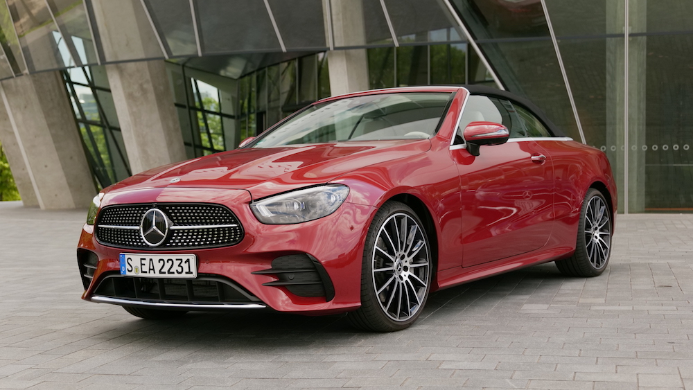 Mercedes E-Klasse Coupé Fahrbericht 2021 Facelift für ...
